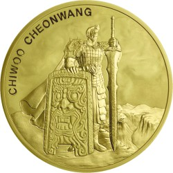 1 oz GOLD 2018 SOUTH KOREA CHIWOO CHEONWANG