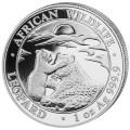 1 oz silver SOMALIA LEOPARD 2019 - 100 shillings