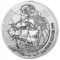1 oz SILVER RWANDA NAUTICAL HMS ENDEAVOUR 2018