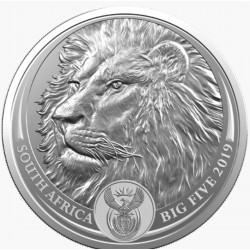 1 oz silver SAM BIG FIVE LION 2019