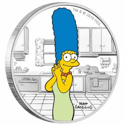 The Simpsons - Marge 2019 1oz Silver Proof Coin