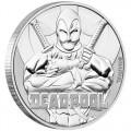 Perth Mint 1 oz silver 2018 MARVEL DEADPOOL $1