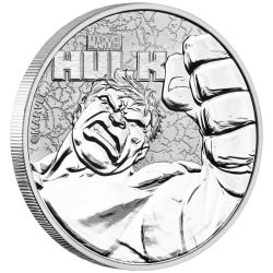 Perth Mint 1 oz silver 2019 MARVEL HULK $1