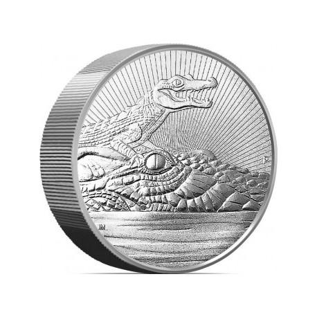 10 oz silver CROCODILE & BABY 2019 Next Generation BU $10