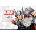 Perth Mint 1 oz silver 2018 MARVEL THOR $1 in card