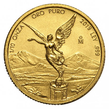 1/10 oz gold LIBERTAD 2019
