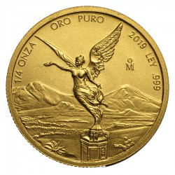 1/4 oz gold LIBERTAD 2019