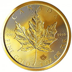 Gold Maple Leaf 1 oz Backdated